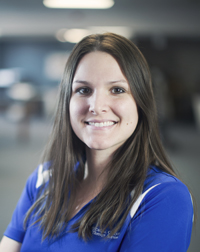 Leah Whipple is a physical therapist at Quincy Medical Group