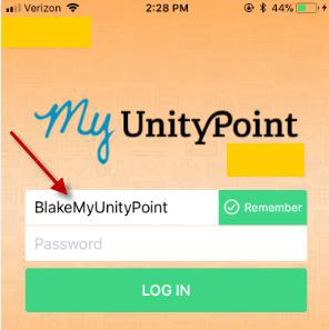 Mobile Login Tip Sheet for your My UnityPoint mobile login at Quincy Medical Group