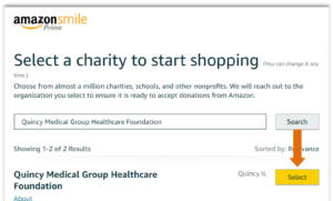 Amazon Smile Instructions #2