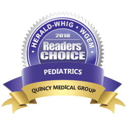 Herald-Whig WGEM Readers Choice in Pediatrics for Quincy Medical Group