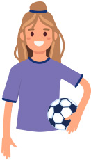 Athlete for concussion page graphic