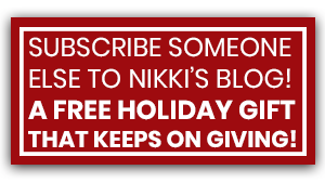 Subscribe to Nikki's blog