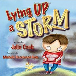 Lying Up a Storm Book Cover